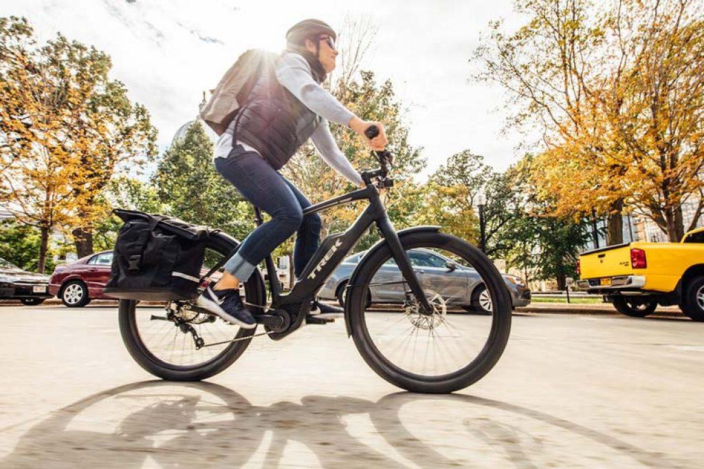 Le vélo électrique vous fait faire de l'exercice