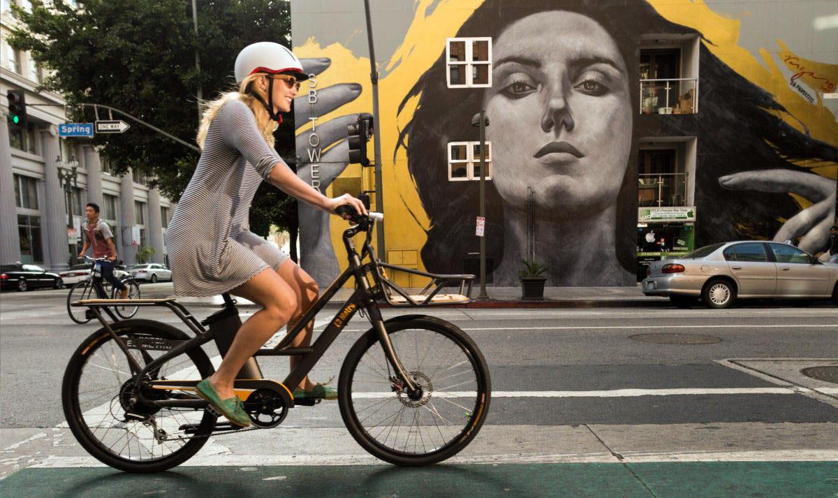 vélo électrique pour les trajets en ville