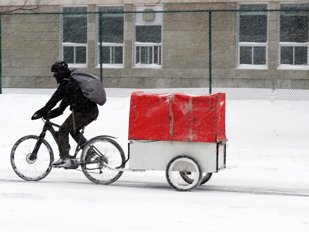préparer son vélo électrique pour l'hiver